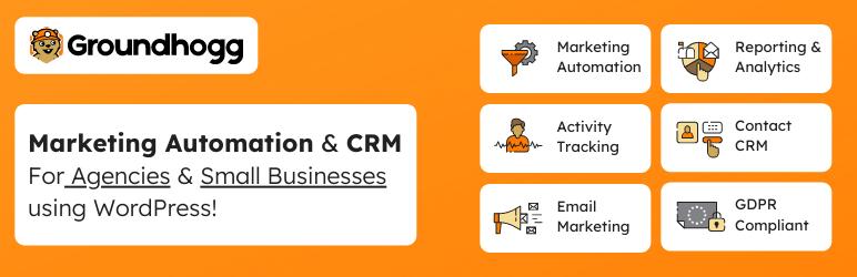 Groundhogg 营销自动化系统和 CRM 同步链接工具