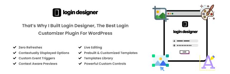 Login Designer 自定义登录页面 登录美化 修改登录页面 自定义程序
