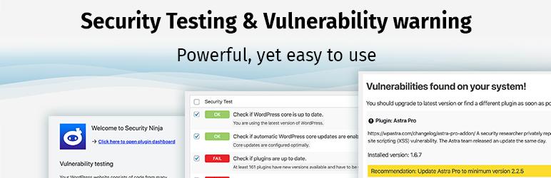安全忍者 扫描程序 网站安全 恶意软件扫描 防火墙 漏洞扫描 防攻击
