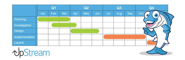 UpStream 项目管理 任务管理 团队协作软件