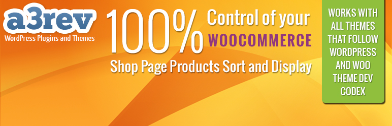Product Sort and Display for WooCommerce 的产品分类和显示