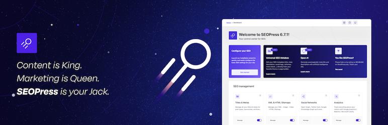SEOPress 搜索引擎优化 SEO 排名优化 网站地图 增加流量